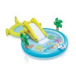 "Intex Gator Inflatable Swimming Pool with Water Sprayer, 127"" x 69"" x 29"" | Walmart (US)"