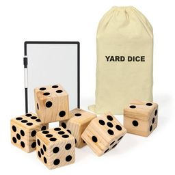 Beyond Outdoors Wooden Yard Dice Lawn Bowling Set | Target