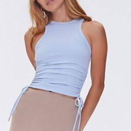 Ruched Drawstring Tank Top   Forever 21 (US)