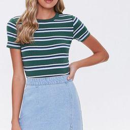 Denim Mini Skirt   Forever 21 (US)
