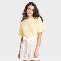 Women's Elbow Sleeve T-Shirt - A New Day™ | Target