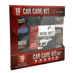 Platinum Series Microfiber Car Care 10 Pc Kit | Walmart (US)