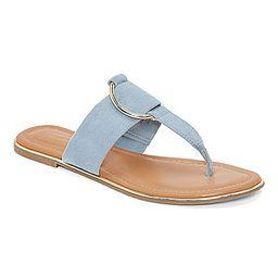 Liz Claiborne Womens Calayan Flat Sandals   JCPenney