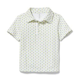 Pineapple Jersey Polo | Janie and Jack