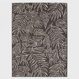 Leaves Outdoor Rug Black - Project 62™ | Target