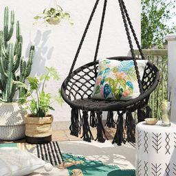 Single Hammock Rope Chair - Black - Opalhouse™ | Target