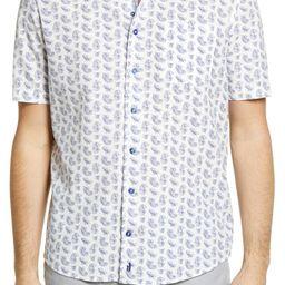Maud Print Short Sleeve Button-Up Shirt | Nordstrom