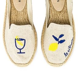 Soludos Limoncello Smoking Espadrille in Sand from Revolve.com   Revolve Clothing (Global)