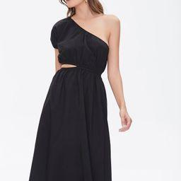 One-Shoulder Cutout Dress | Forever 21 (US)