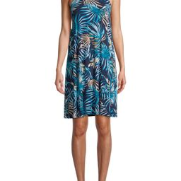 Time and Tru Women's Knit Halter Dress | Walmart (US)