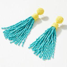 Tassel Drop Earrings   Anthropologie (US)