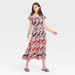 Women's Short Sleeve Shift Dress - Knox Rose™ | Target