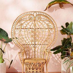Plumage Indoor/Outdoor Rattan Chair   Anthropologie (US)