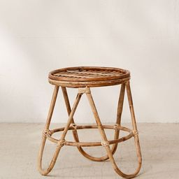 Skye Rattan Stool   Urban Outfitters (US and RoW)