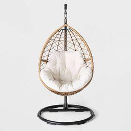 Britanna Patio Hanging Egg Chair - Natural - Opalhouse™   Target