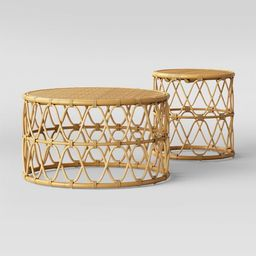 Jewel Round Coffee and Side Table Set - Opalhouse™   Target