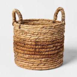 Round Natural Basket - Threshold™   Target