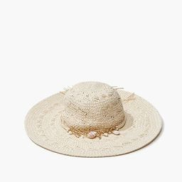 Seashell Charm Straw Hat | Forever 21 (US)