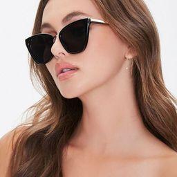 Square Cat-Eye Sunglasses | Forever 21 (US)
