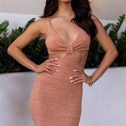 Talia Dusty Coral Mini Dress | Shop Priceless