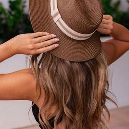 Sun's Out Woven Hat | Shop Priceless