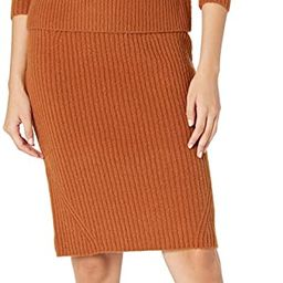 Daily Ritual Women's Relaxed-Fit Cozy Boucle Mockneck Sweater & Pencil Skirt 2-Piece Outfit   Amazon (US)