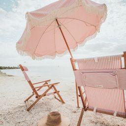 lauren's pink stripe premium umbrella | minnow
