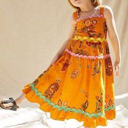 Maeve Sunset Embroidered Kids Dress   Anthropologie (US)