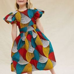 SIKA Geometric Kids Dress   Anthropologie (US)