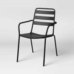 Metal Slat Stacking Patio Chair - Room Essentials™ | Target
