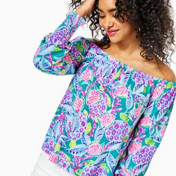 Lana Off-The-Shoulder Top | Lilly Pulitzer