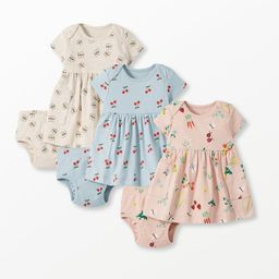 Baby Dress & Bloomer Set In Organic Cotton   Hanna Andersson