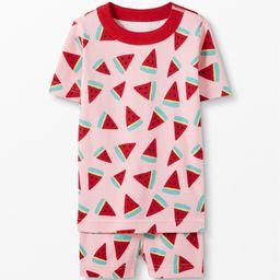 Short John Pajamas In Organic Cotton   Hanna Andersson