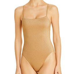 Jenna Metallic One Piece Swimsuit   Bloomingdale's (US)