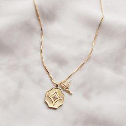 Hummingbird Gold Necklace   Wanderlust + Co