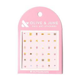 Olive & June Nail Art Kit - Snack Time - 36ct | Target