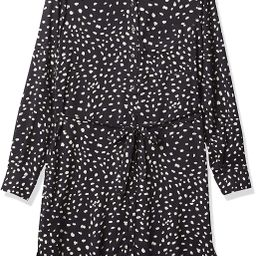 Amazon Brand - Daily Ritual Women's Georgette Long-Sleeve Button Down Shirt Dress | Amazon (US)