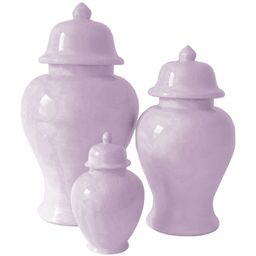 Wisteria Purple Ginger Jars | Lo Home by Lauren Haskell Designs