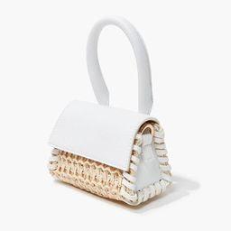 Basketwoven Mini Crossbody Bag | Forever 21 (US)