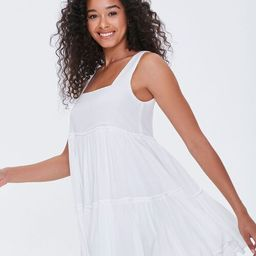 Shirred Tiered Mini Dress | Forever 21 (US)