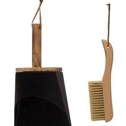 Beechwood Dustpan Set | House of Jade Home