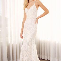 Flynn White Lace Maxi Dress | Lulus (US)
