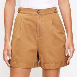 Petite Pull On Shorts in Twill | LOFT