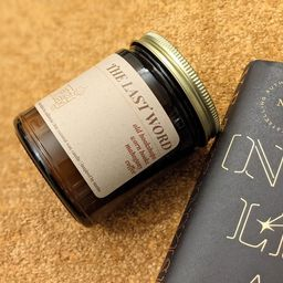 Last Word Scented Candle  Book Lovers Candle  Bookish Candle   Etsy   Etsy (US)