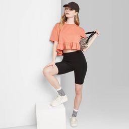 Women's High-Rise Bike Shorts - Wild Fable™ | Target