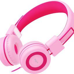 Elecder i37 Kids Headphones Children Girls Boys Teens Foldable Adjustable On Ear Headphones 3.5mm...   Amazon (US)