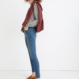"""10"""" High-Rise Skinny Jeans in Dewitt Wash: Button-Front TENCEL™ Denim Edition   Madewell"""