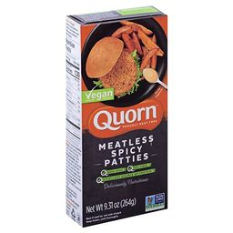 Quorn, Hot And Spicy Vegan Patties, 9.31 Ounce   Amazon (US)