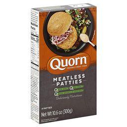 Quorn Foods Meatless Patties, Vegetarian, FrOzen, 10.6 Oz   Amazon (US)