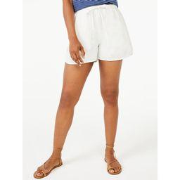 Free Assembly Women's Drawstring Shorts | Walmart (US)